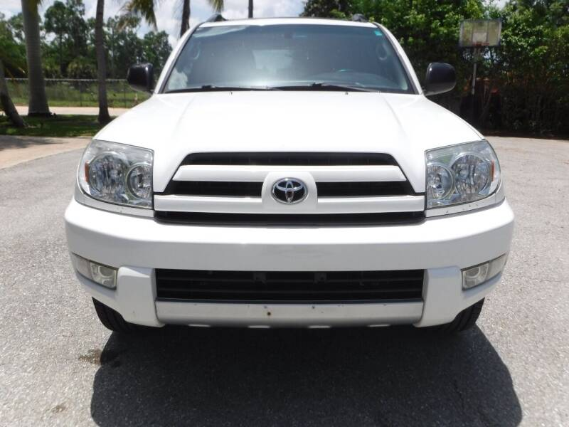 2004 Toyota 4Runner for sale at Seven Mile Motors, Inc. in Naples FL