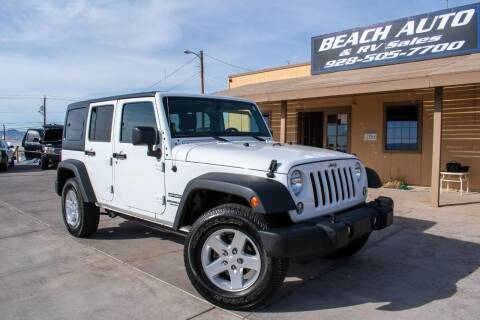 2015 Jeep Wrangler Unlimited for sale at Beach Auto and RV Sales in Lake Havasu City AZ
