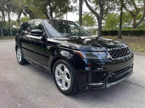 2020 Land Rover Range Rover Sport for sale at DELRAY AUTO MALL in Delray Beach FL