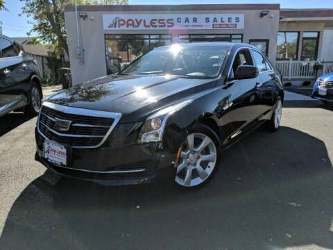 2016 Cadillac ATS for sale at PAYLESS CAR SALES of South Amboy in South Amboy NJ