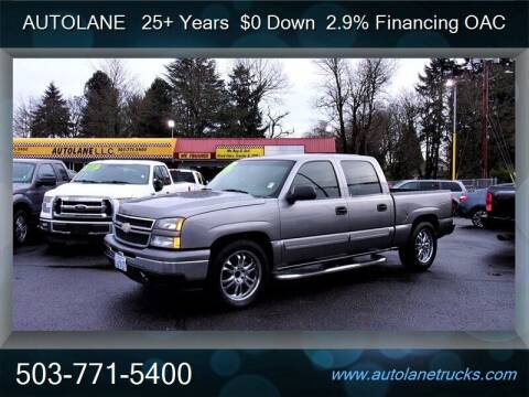 2007 Chevrolet Silverado 1500 Classic for sale at Auto Lane in Portland OR