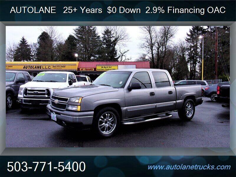2007 Chevrolet Silverado 1500 Classic for sale at Auto Lane in Portland OR