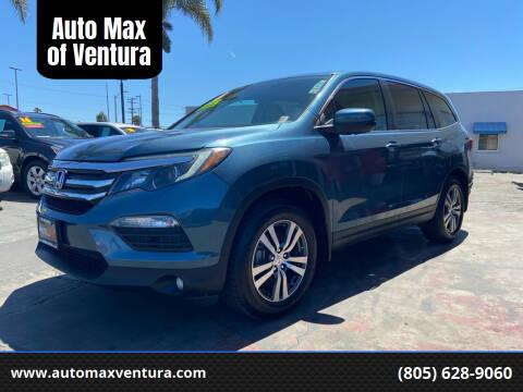2016 Honda Pilot for sale at Auto Max of Ventura in Ventura CA