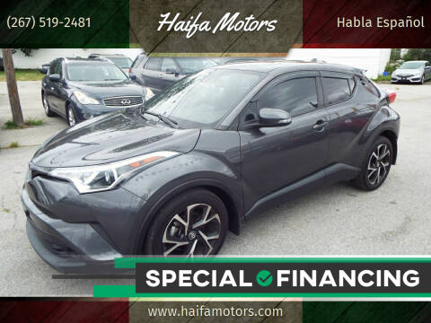 2018 Toyota C-HR for sale at Haifa Motors in Philadelphia PA