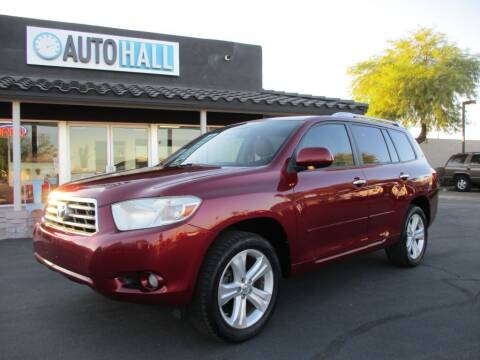 2010 Toyota Highlander for sale at Auto Hall in Chandler AZ