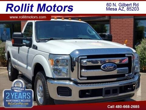 2011 Ford F-350 Super Duty for sale at Rollit Motors in Mesa AZ