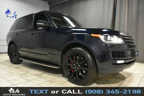 2014 Land Rover Range Rover for sale at AUTO HOLDING in Hillside NJ