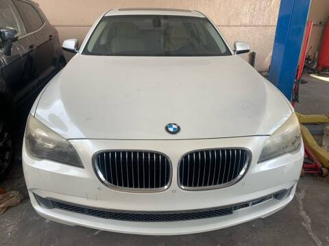 2010 BMW 7 Series for sale at Eden Cars Inc in Hollywood FL