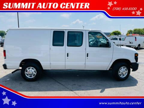 2011 Ford E-Series Cargo for sale at SUMMIT AUTO CENTER in Summit IL