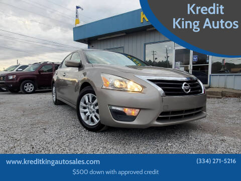 2013 Nissan Altima for sale at Kredit King Autos in Montgomery AL