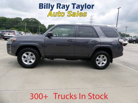 2018 Toyota 4Runner for sale at Billy Ray Taylor Auto Sales in Cullman AL