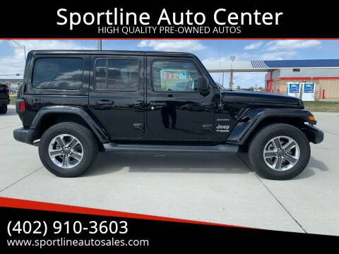 2020 Jeep Wrangler Unlimited for sale at Sportline Auto Center in Columbus NE