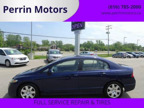 2009 Honda Civic for sale at Perrin Motors in Comstock Park MI