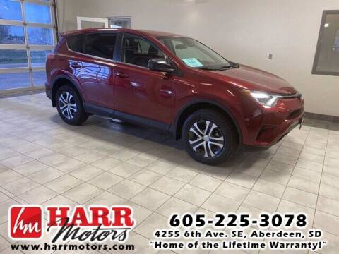 2018 Toyota RAV4 for sale at Harr's Redfield Ford in Redfield SD