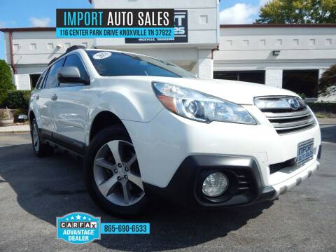 2013 Subaru Outback for sale at IMPORT AUTO SALES in Knoxville TN