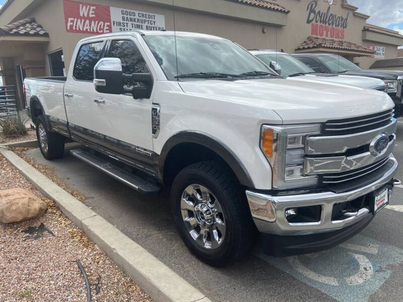 2018 Ford F-350 Super Duty for sale at Boulevard Motors in St George UT