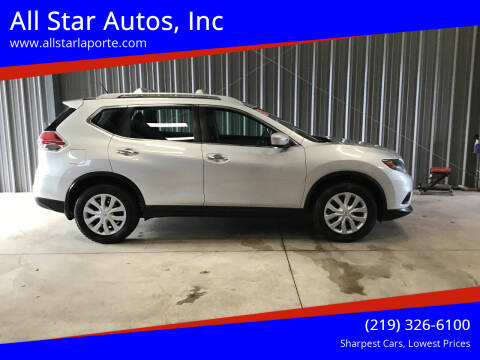 2015 Nissan Rogue for sale at All Star Autos, Inc in La Porte IN