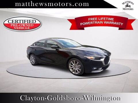 2021 Mazda Mazda3 Sedan for sale at Auto Finance of Raleigh in Raleigh NC