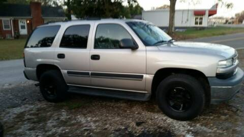 2005 Chevrolet Tahoe for sale at AFFORDABLE DISCOUNT AUTO in Humboldt TN
