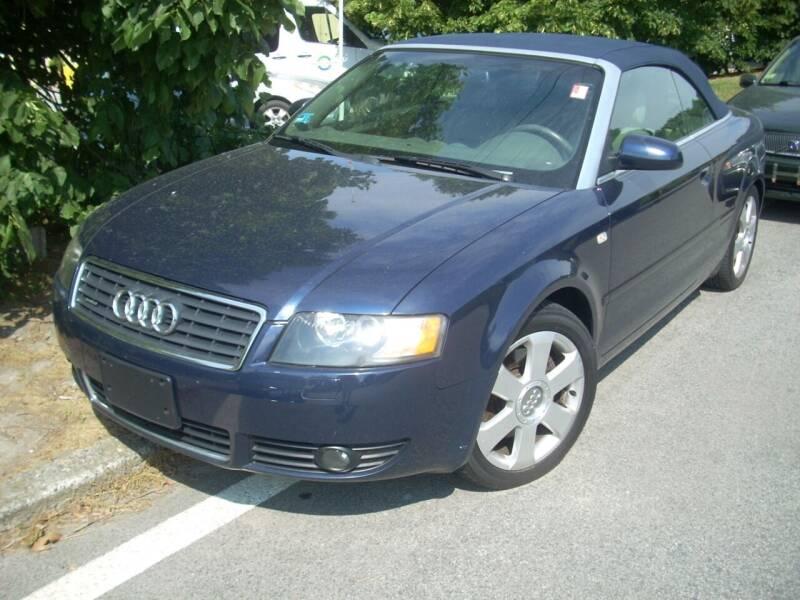 2005 Audi A4 for sale at SODA MOTORS AUTO SALES LLC in Newport RI