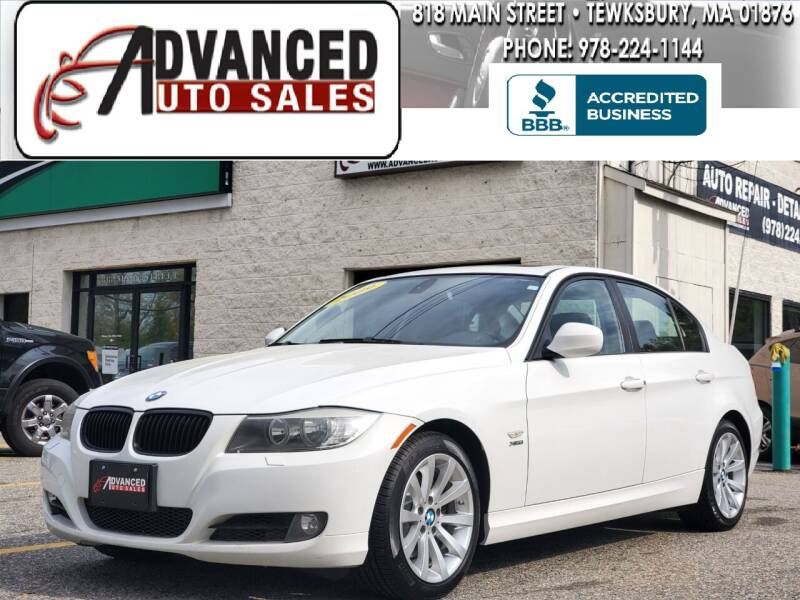 2009 BMW 3 Series for sale at Advanced Auto Sales in Tewksbury MA