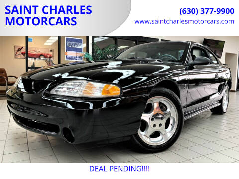 1995 Ford Mustang SVT Cobra for sale at SAINT CHARLES MOTORCARS in Saint Charles IL