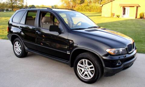 2005 BMW X5 for sale at Angelo's Auto Sales in Lowellville OH
