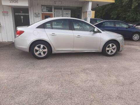 2013 Chevrolet Cruze for sale at All Star Auto Sales of Raleigh Inc. in Raleigh NC