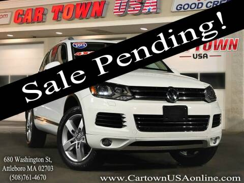 2012 Volkswagen Touareg for sale at Car Town USA in Attleboro MA