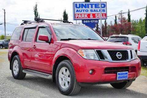 2011 Nissan Pathfinder for sale at United Auto Sales in Anchorage AK