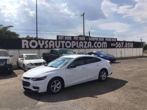 2016 Chevrolet Malibu for sale at Roy's Auto Plaza 2 in Amarillo TX