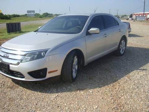 2012 Ford Fusion for sale at Advantage Auto Sales in Wichita Falls TX