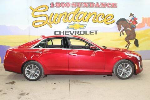 2017 Cadillac CTS for sale at Sundance Chevrolet in Grand Ledge MI