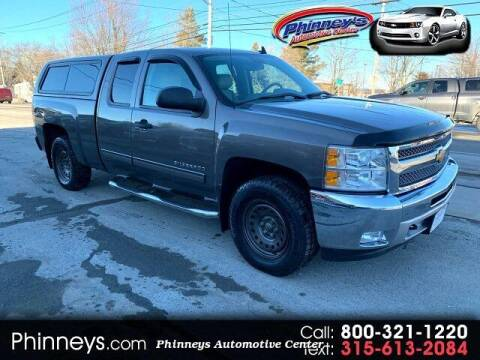 2013 Chevrolet Silverado 1500 for sale at Phinney's Automotive Center in Clayton NY