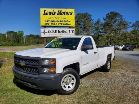 2014 Chevrolet Silverado 1500 for sale at Lewis Motors LLC in Deridder LA