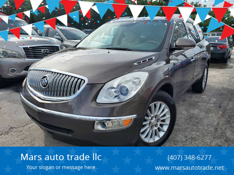 2010 Buick Enclave for sale at Mars auto trade llc in Kissimmee FL