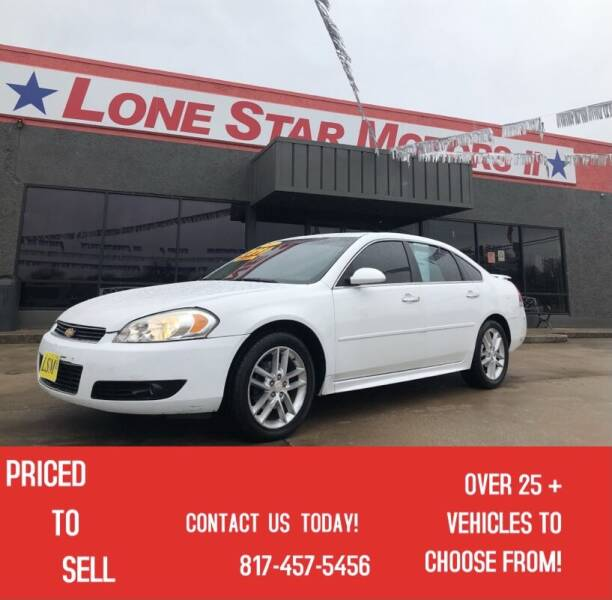2012 Chevrolet Impala for sale at LONE STAR MOTORS II in Fort Worth TX