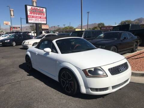 2002 Audi TT for sale at ATLAS MOTORS INC in Salt Lake City UT