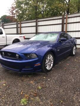 2013 Ford Mustang for sale at Monster Motors in Michigan Center MI