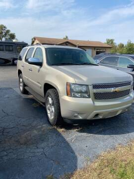2008 Chevrolet Tahoe for sale at DAVE KNAPP USED CARS in Lapeer MI