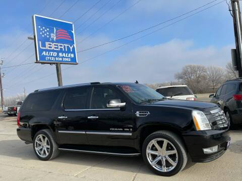 2008 Cadillac Escalade ESV for sale at Liberty Auto Sales in Merrill IA