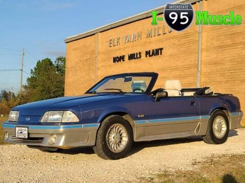 1988 Ford Mustang for sale at I-95 Muscle in Hope Mills NC