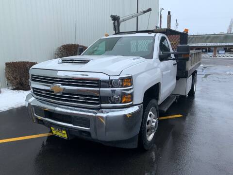 2018 Chevrolet Silverado 3500HD CC for sale at DAVENPORT MOTOR COMPANY in Davenport WA