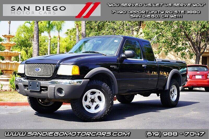 2002 Ford Ranger for sale at San Diego Motor Cars LLC in San Diego CA