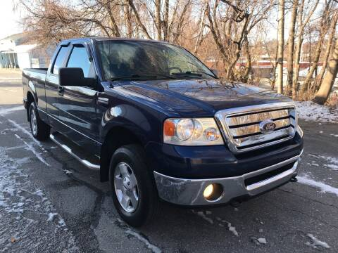 2007 Ford F-150 for sale at D'Ambroise Auto Sales in Lowell MA