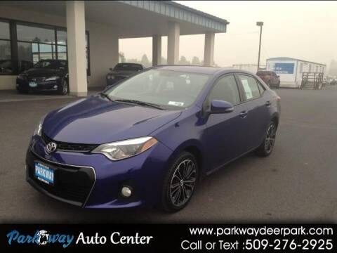 2015 Toyota Corolla for sale at PARKWAY AUTO CENTER AND RV in Deer Park WA