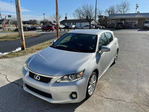 2012 Lexus CT 200h for sale at Auto Hub in Grandview MO