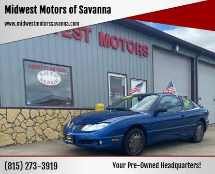2004 Pontiac Sunfire for sale at Midwest Motors of Savanna in Savanna IL