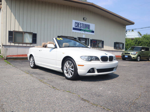 2006 BMW 3 Series for sale at Crestwood Auto Sales in Swansea MA