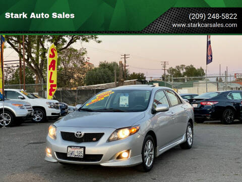 2010 Toyota Corolla for sale at Stark Auto Sales in Modesto CA